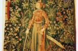 Фрагмент гобелена из замка Анжера