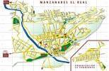 Карта города Мансанарес эль-Реал