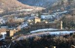 Замок Монтебелло зимой
